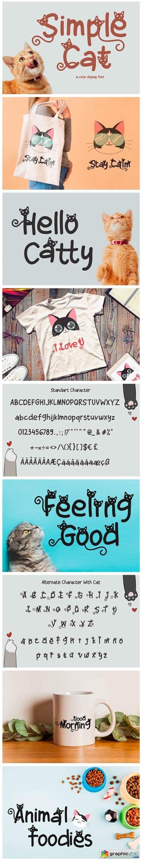 Simple Cat Font