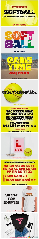 Softball Font