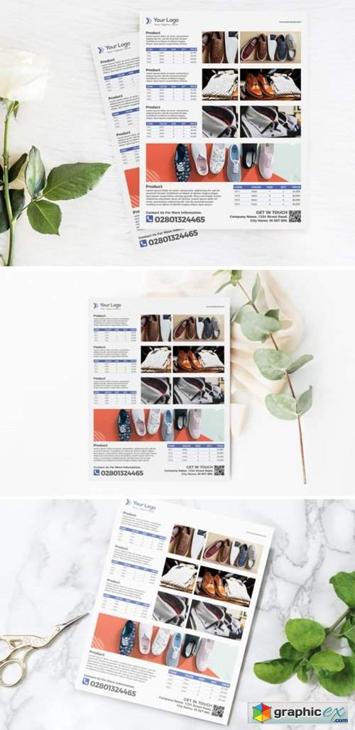 Fashion Product Flyer Template for Sale