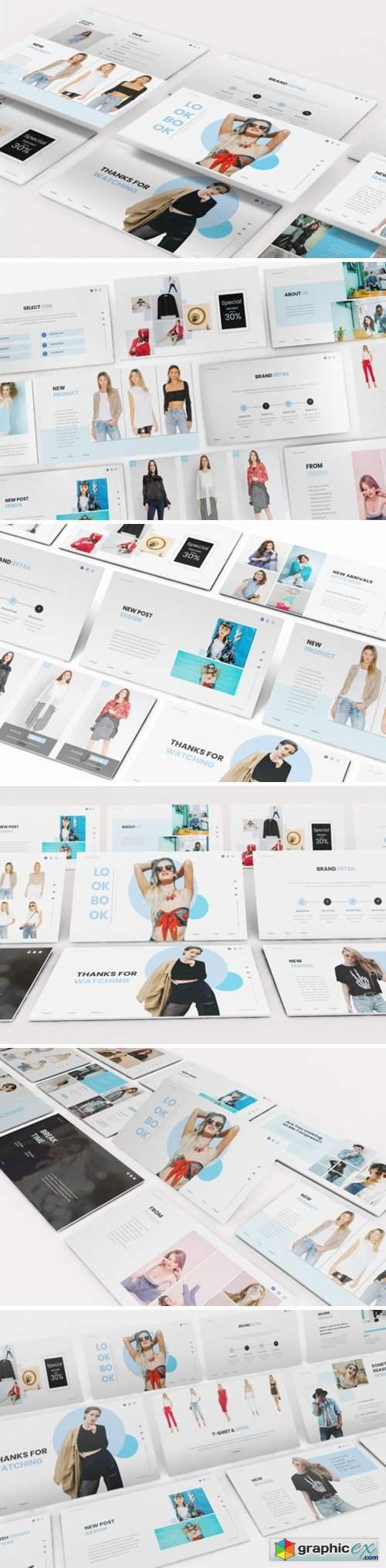 Fashion Lookbook Powerpoint