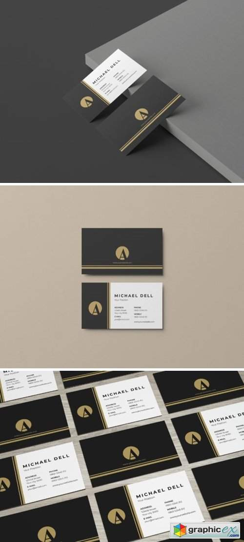 Minimalis Business Card Vol 1