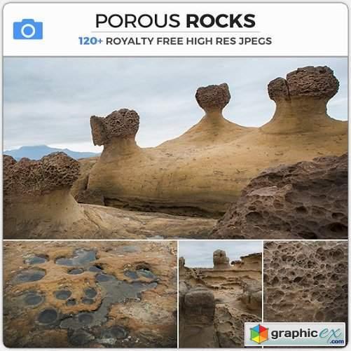 Photobash - Porous Rocks