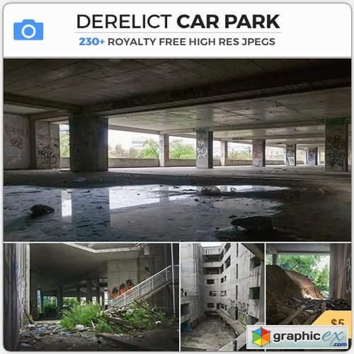 Photobash - DERELICT CAR PARK