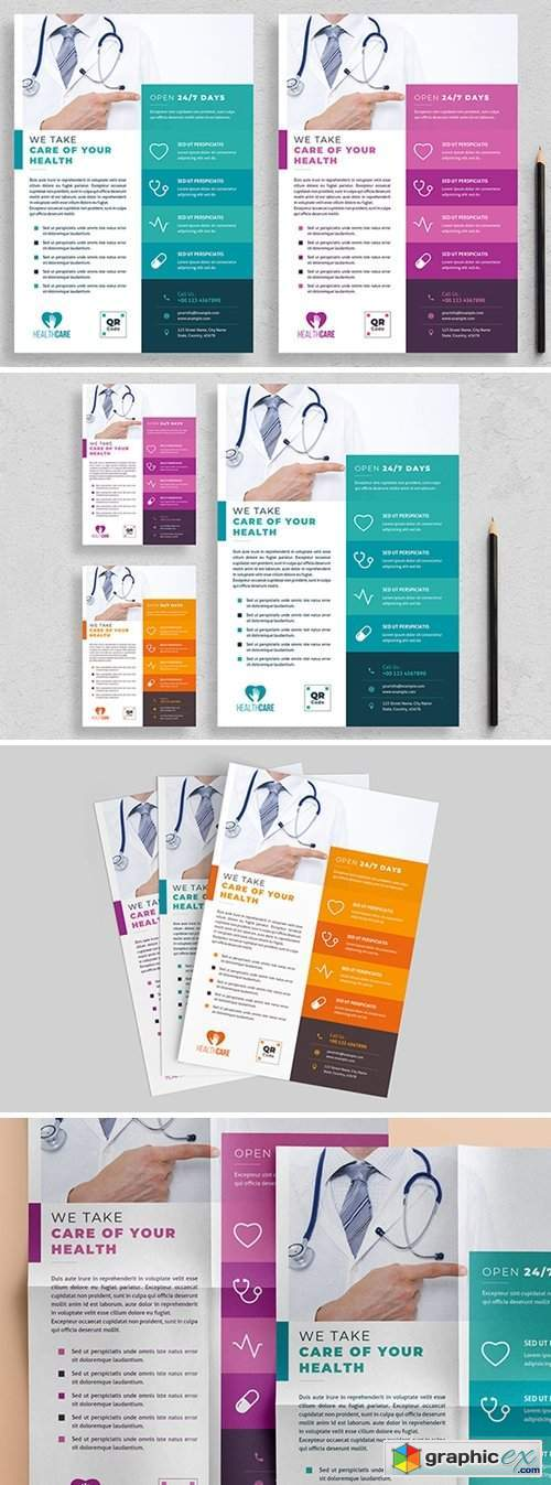 Healthcare Flyer Layout