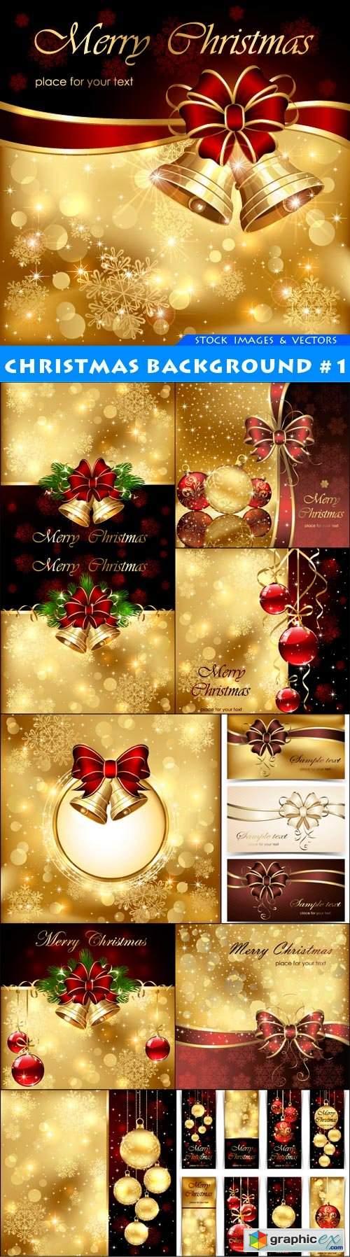Christmas background #1 11X EPS