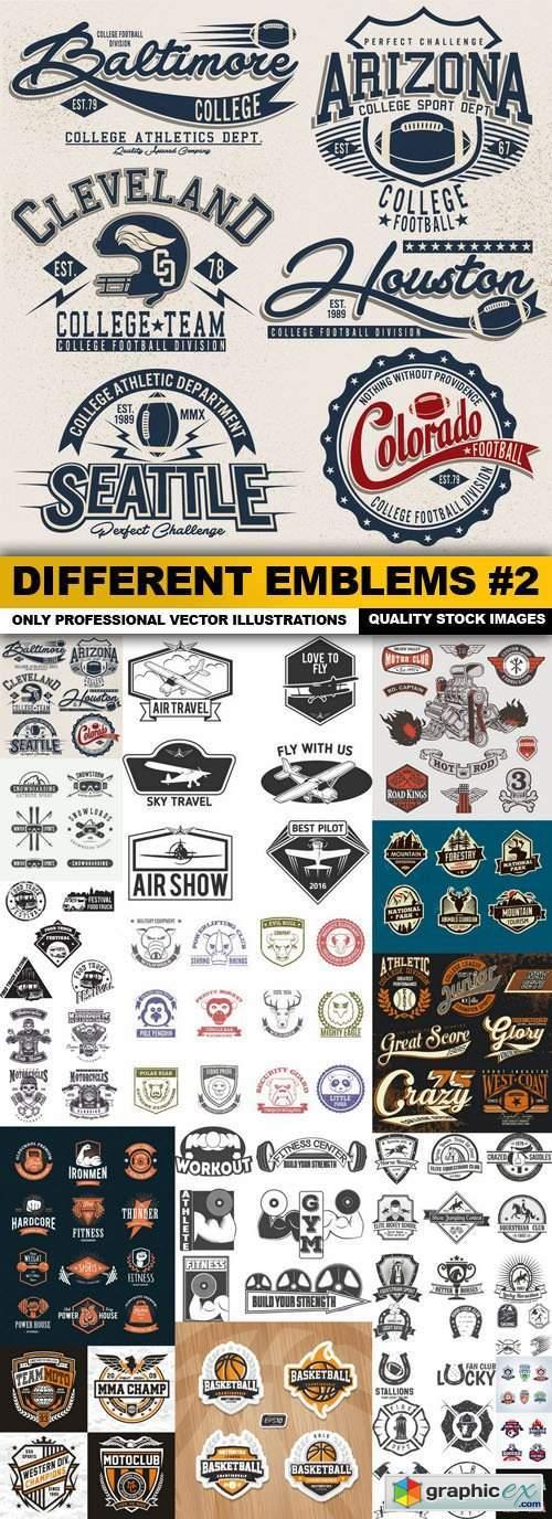 Different Emblems #2 - 20 Vector