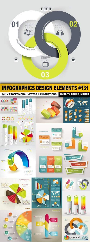 Infographics Design Elements #131 - 15 Vector