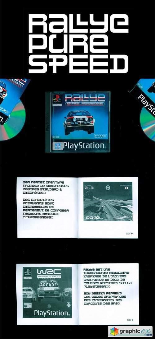 Rallye Font
