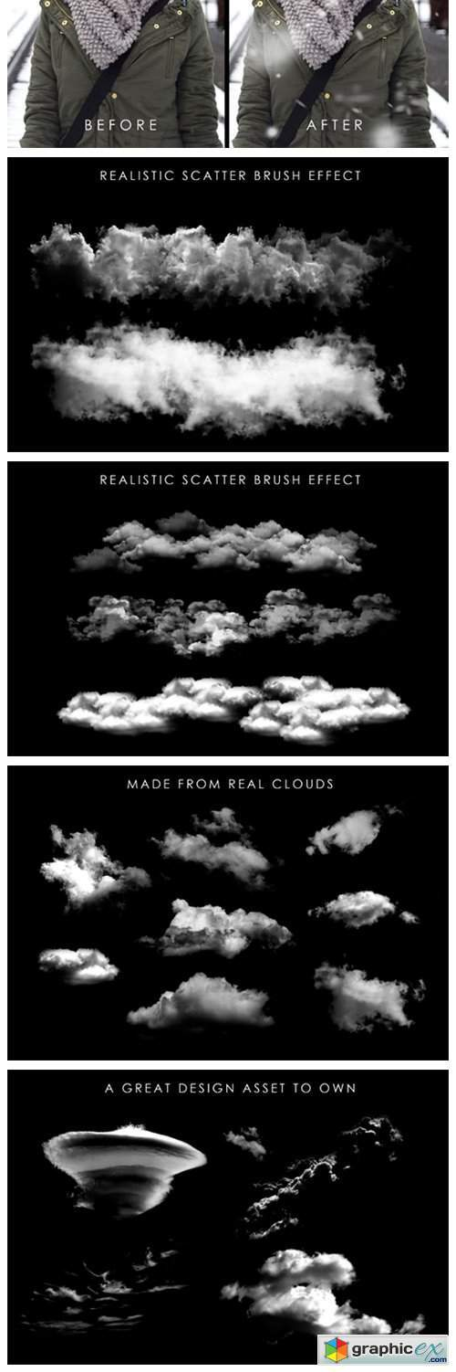 75 Realistic Weather Brushes