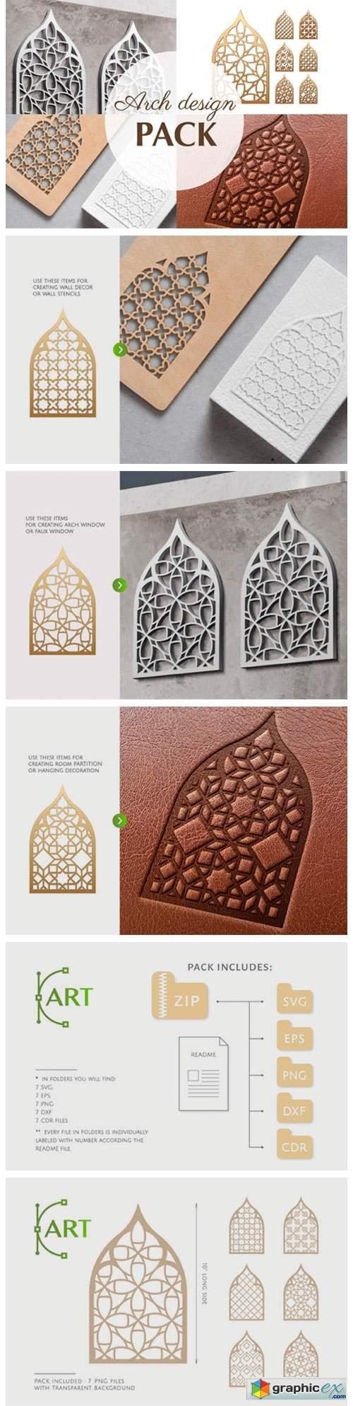 Arch Window Islam Art 3185858