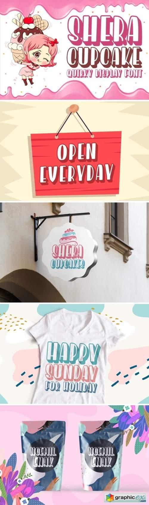 Shera Cupcake Font