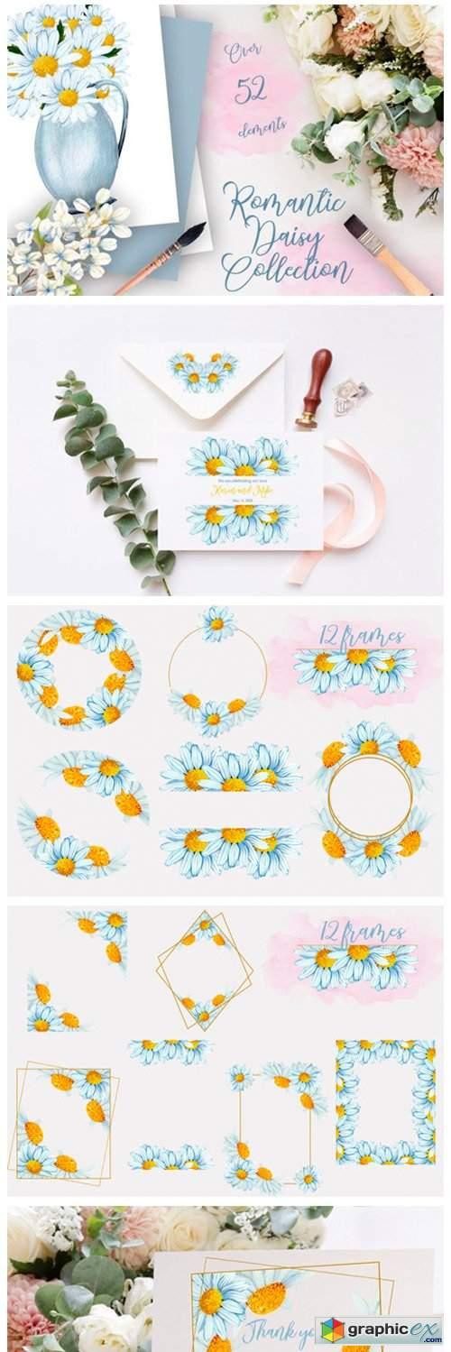 Romantic Daisy Collection II