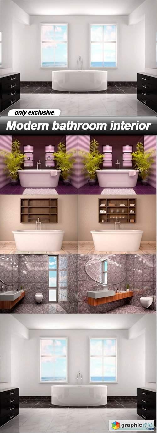 Modern bathroom interior - 7 UHQ JPEG