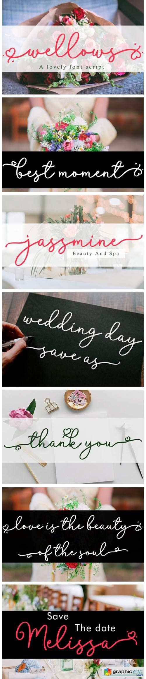 Wellows Font