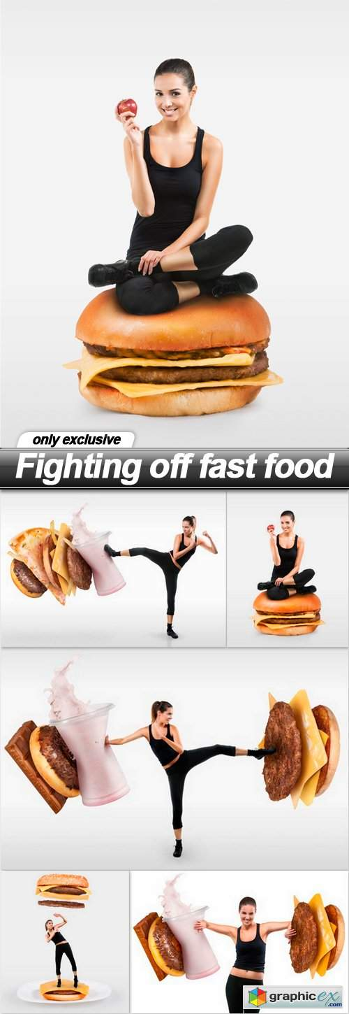Fighting off fast food - 5 UHQ JPEG