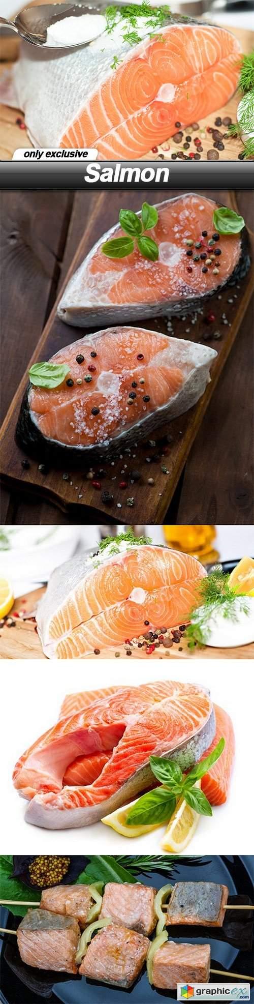 Salmon - 5 UHQ JPEG