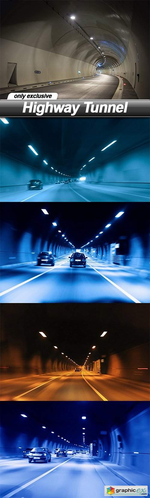 Highway Tunnel - 5 UHQ JPEG
