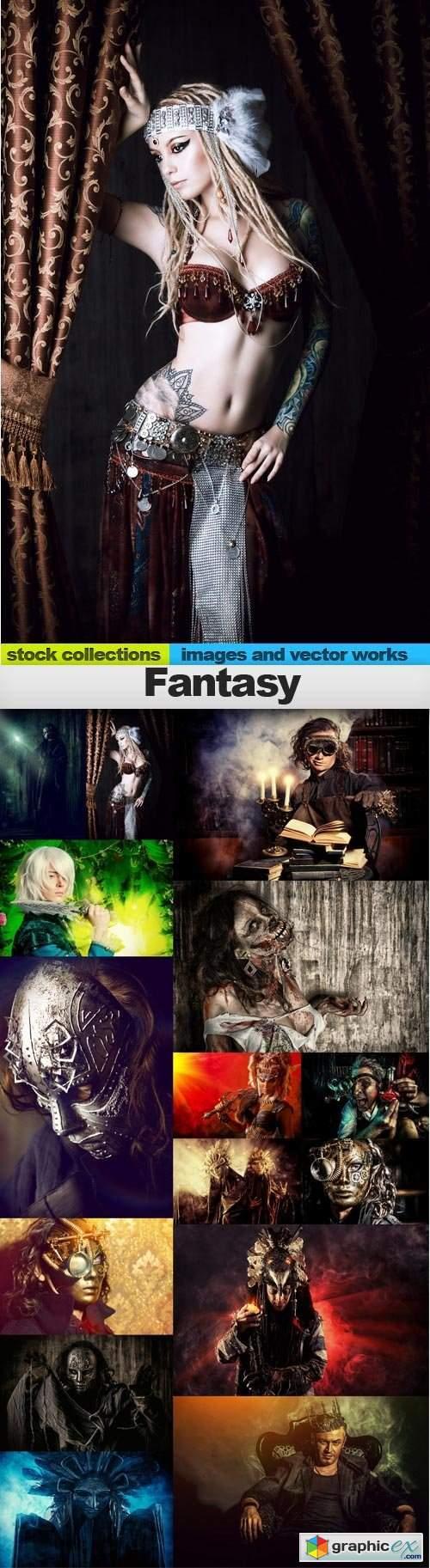 Fantasy, 15 x UHQ JPEG