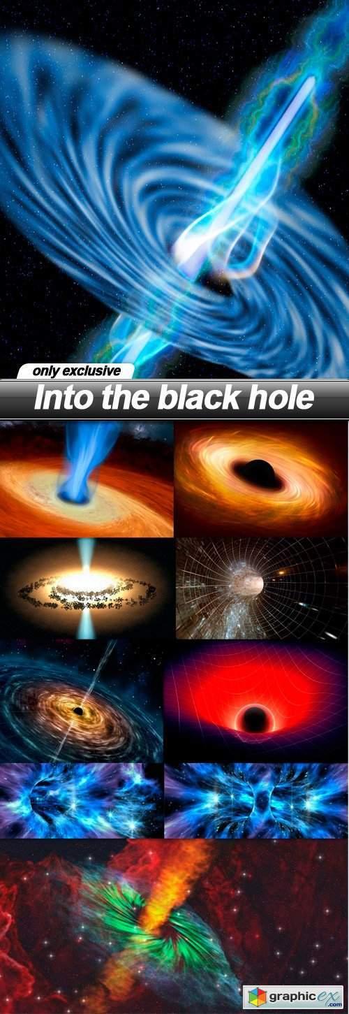 Into the black hole - 10 UHQ JPEG