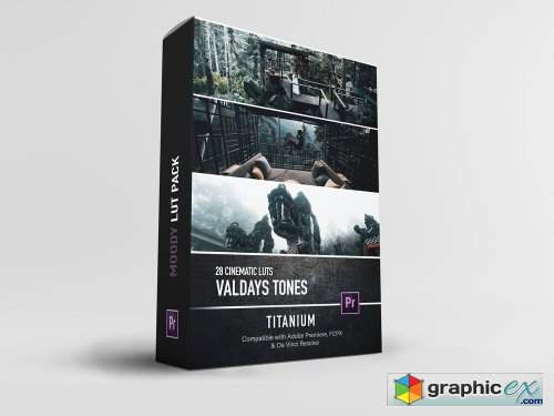 ValdaysFilm / @Valdays - Titanium LUT Pack (Master)