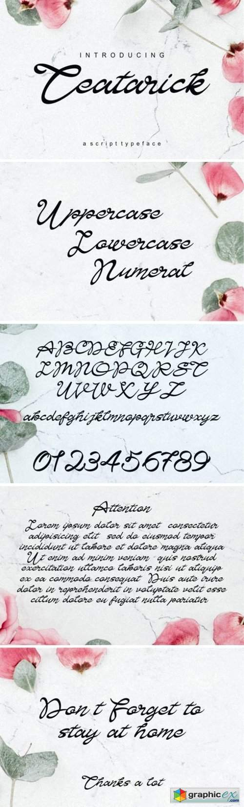 Teatarick Font