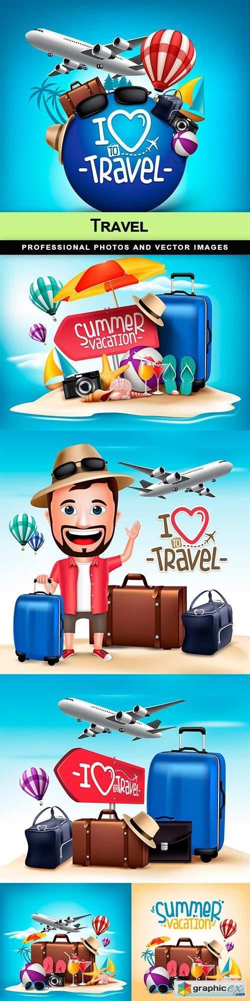 Travel - 6 EPS