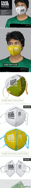 Face Mask Mockup 26390207