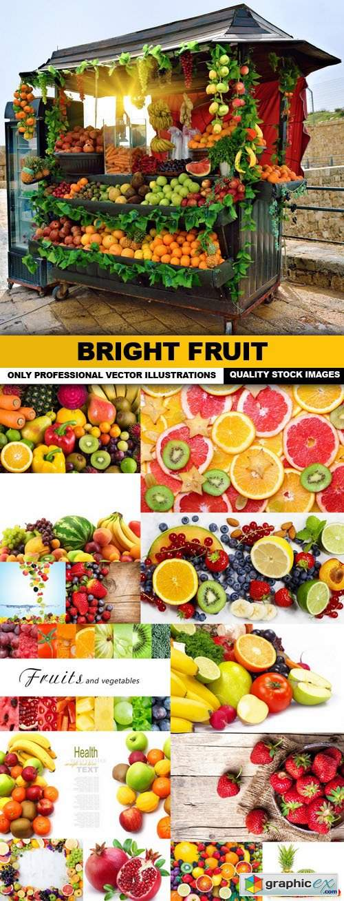 Bright Fruit - 15 HQ Images
