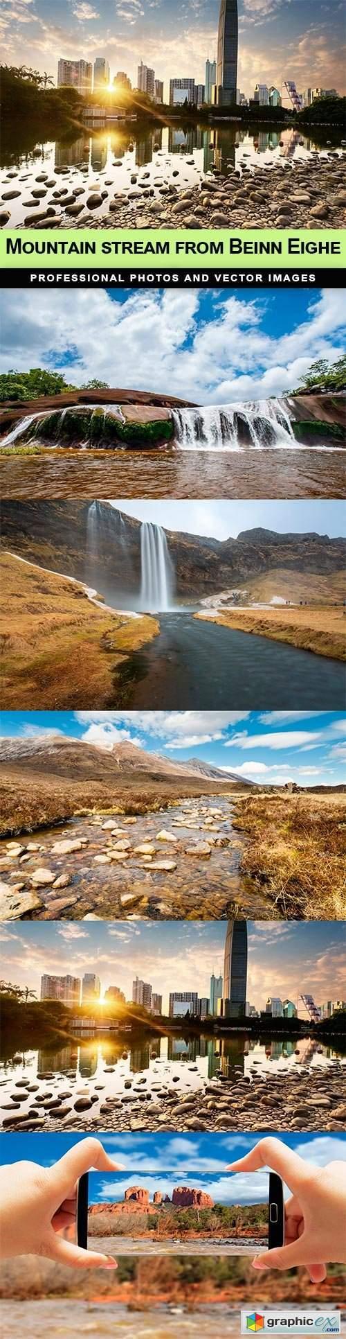 Mountain stream from Beinn Eighe - 5 UHQ JPEG