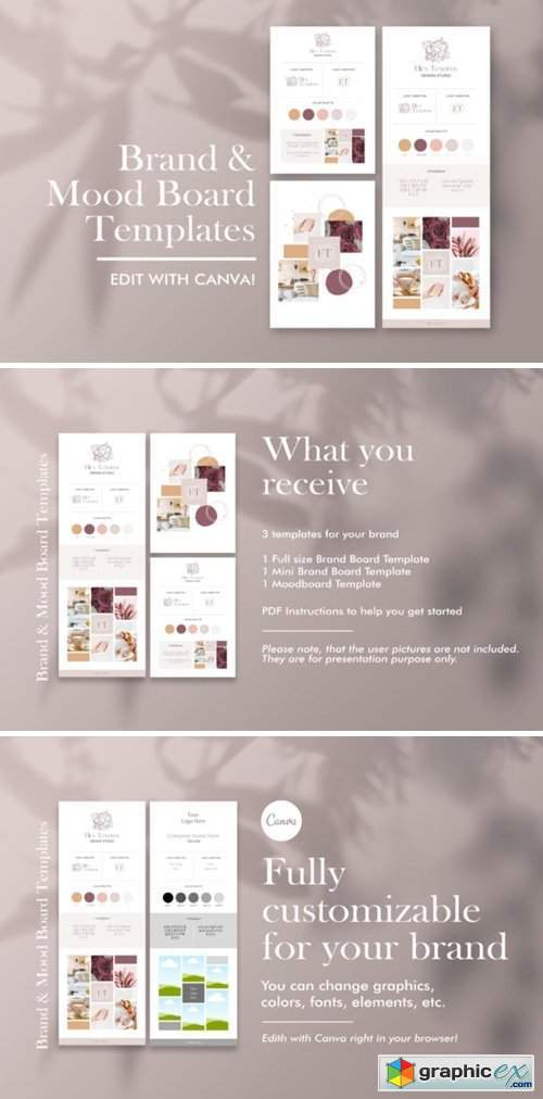 Brand and Mood Board Template