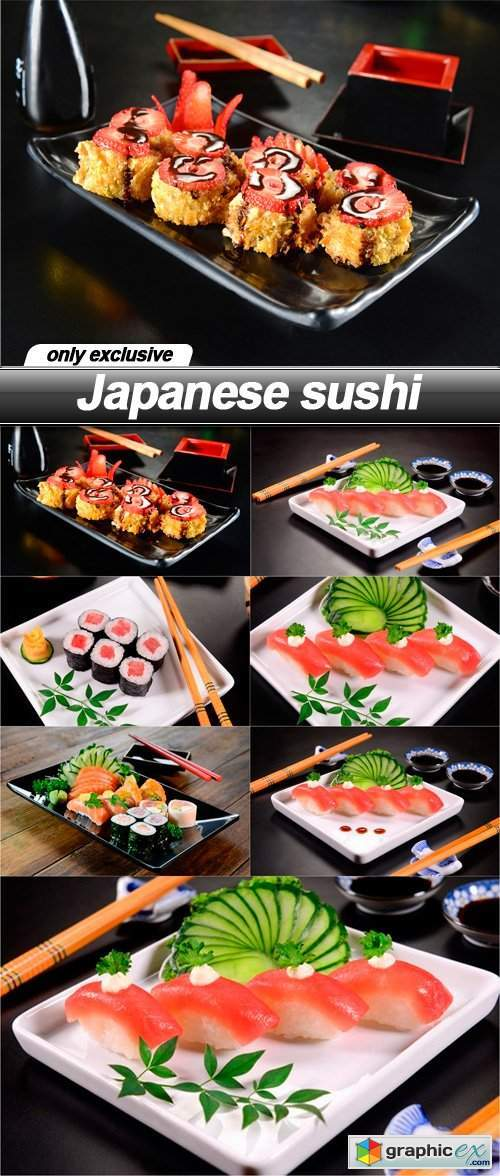 Japanese sushi - 7 UHQ JPEG