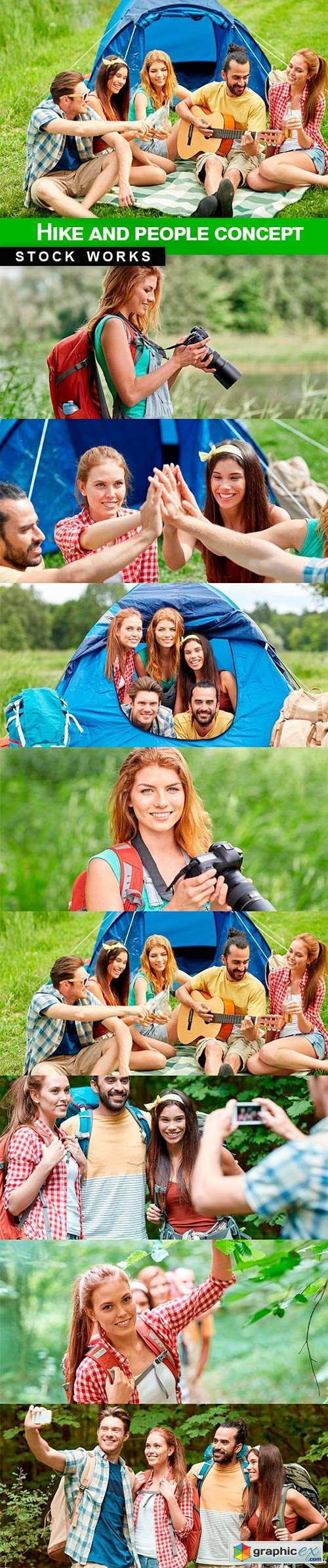 Hike and people concept - 9 UHQ JPEG