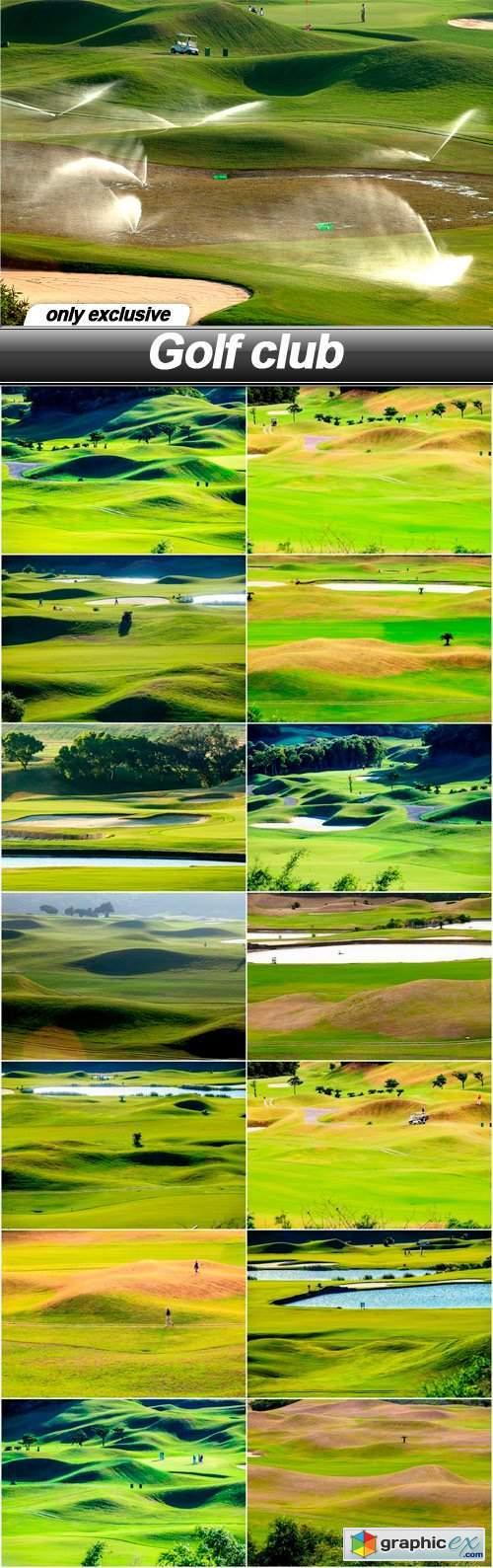 Golf club - 15 UHQ JPEG