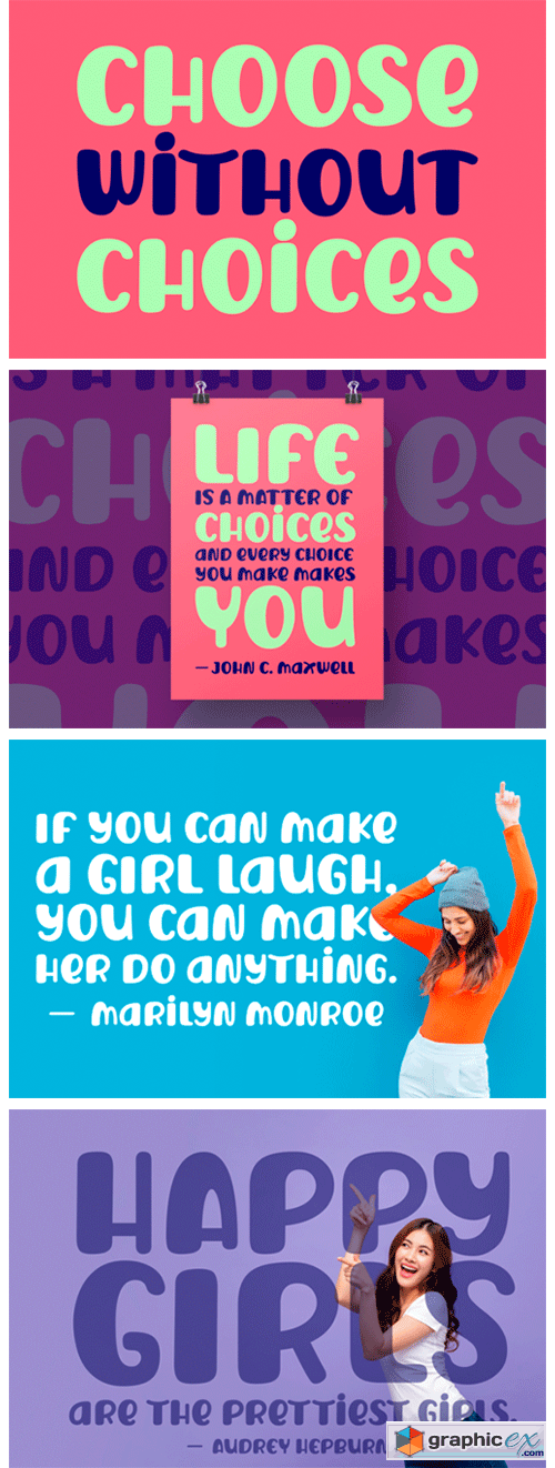 Choose Without Choices Font