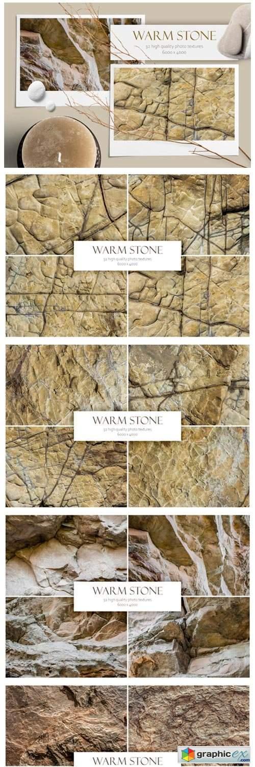 Warm Stone. Textures Bundle