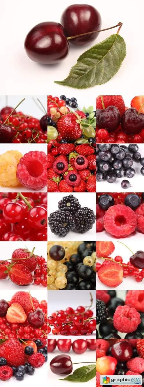Ripe berries bitmap