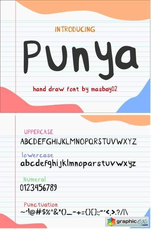 Punya Font