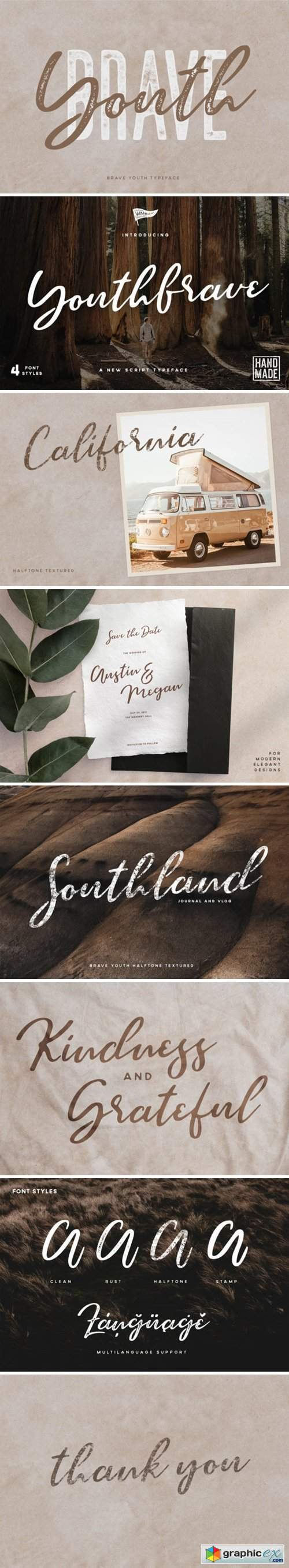 Brave Youth Font