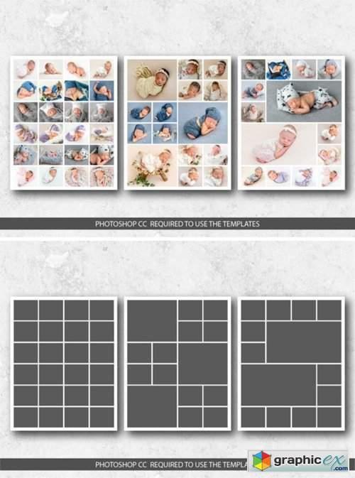 8x10 Photo Collage Templates