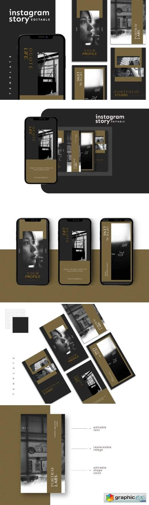 Instagram Story Template 4050533