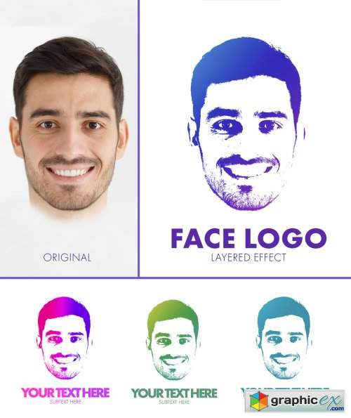 Duotone Logo Effect