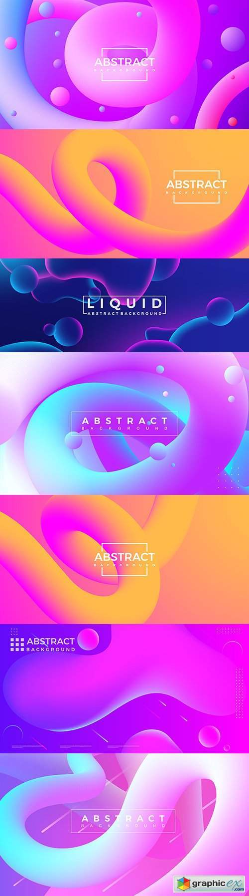Abstract 3d curve background gradient shape line
