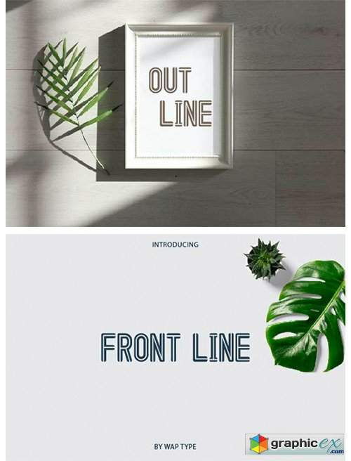 Out Line Font