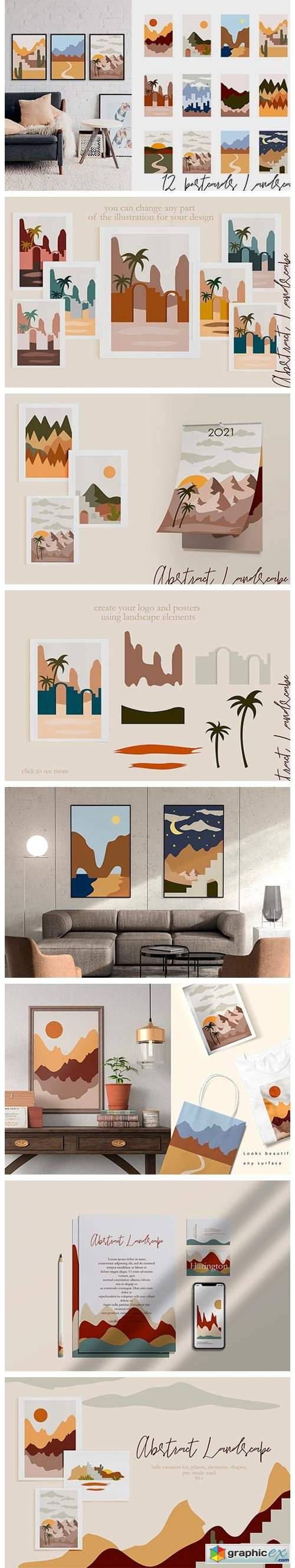 Abstract Landscape Creation Kit