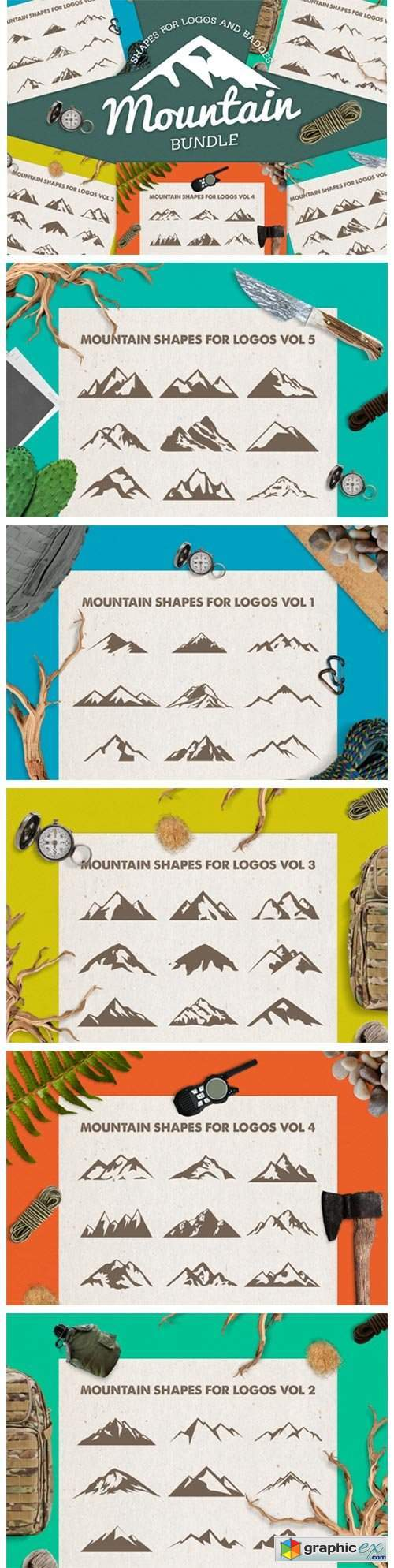 Mountain Shapes Bundle