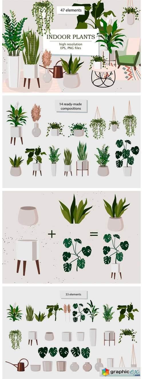 Indoor Plants Clipart