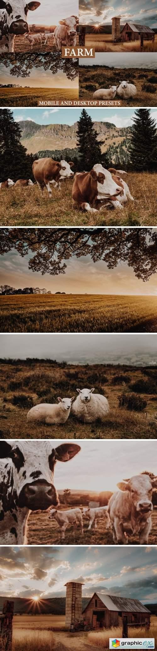 Cinematic Farm Mobile & Desktop Presets