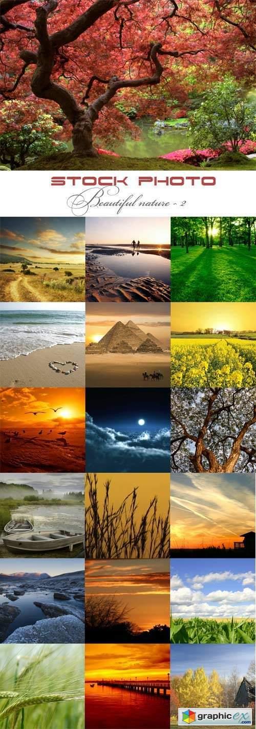 Beautiful nature raster graphics - 2
