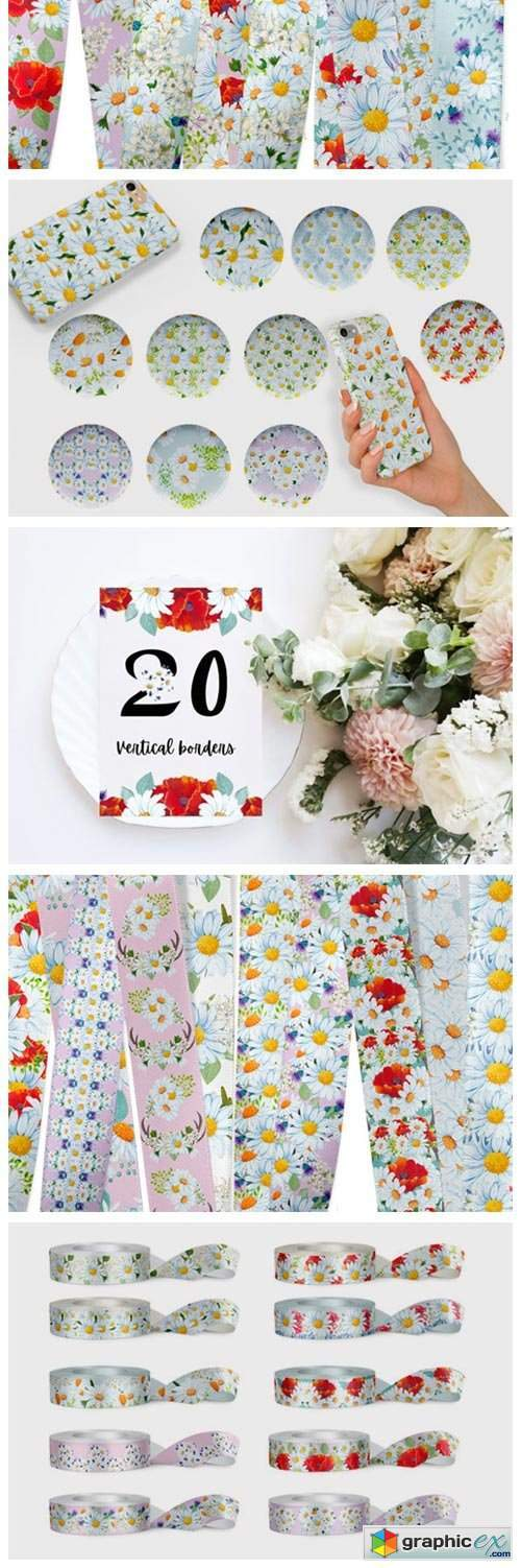 Daisy Pattern Collection