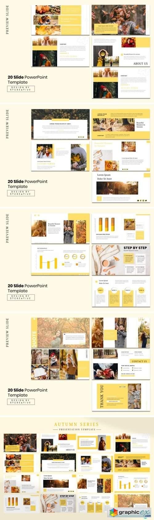 Presentation Template - Autumn Series